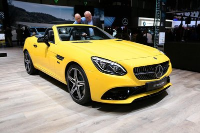 [Geneva 2019] Mercedes-Benz SLC ra mắt lần cuối