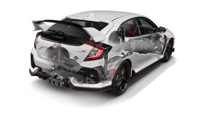 Honda Civic Type R 2019 đuôi xe
