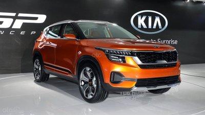 SUV cỡ nhỏ Kia SP Concept ..