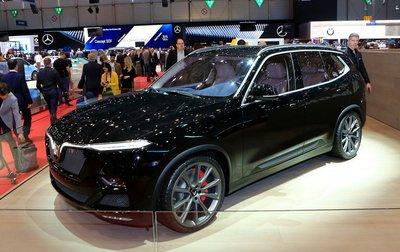 SUV VinFast LUX V8 được giới thiệu tại Geneva Motor Show...