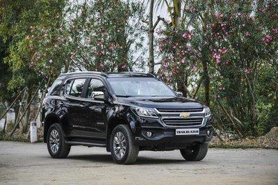 Chevrolet Trailblazer, Colorado giảm giá cao nhất 50 triệu đồng tại Việt Nam a1