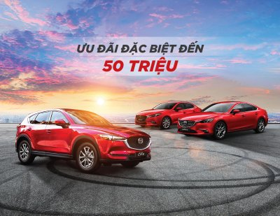 Thaco chơi lớn, khuyến mãi đến 50 triệu đồng cho xe Mazda trong tháng 3/2019 a1