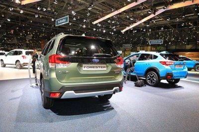 [Geneva 2019] Subaru Forester eBoxer thay đổi công nghệ