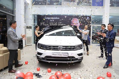 Volkswagen Tiguan Allspace 2019 của Phan Đinh Tùng