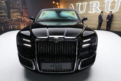 Siêu xe của tổng thống Putin tung bản thương mại a3.