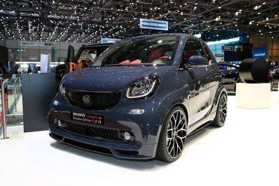 [Geneva 2019] Brabus độ xế điện Smart ForTwo siêu ngầu