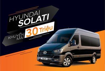 Hyundai Solati giảm giá 30 triệu đồng trong tháng 3/2019 tại Việt Nam a1
