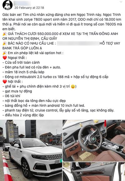 Tin nổi không – xe Tàu Zotye T600s cũ bán lại với giá đắt ngang xe Nhật?4aa
