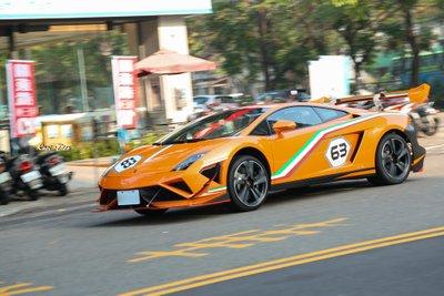 Lamborghini Gallardo LP 560-4 Macau GP tại Đài Loan 4