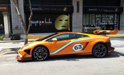 Lamborghini Gallardo LP 560-4 Macau GP tại Đài Loan 3