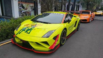 Siêu xe Lamborghini Gallardo LP 560-4 Macau GP
