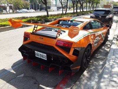 Lamborghini Gallardo LP 560-4 Macau GP tại Đài Loan 5
