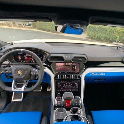 Nội thất Lamborghini Urus của Kanye West