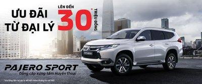 Mitsubishi Pajero Sport Gasoline 4x2 AT giảm 30 triệu đồng tại Việt Nam a1