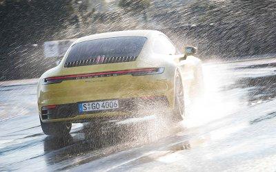 Porsche 911 thế hệ mới có thêm chế độ lái xe trên đường trượt nước2aa
