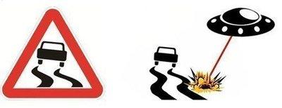 """(FUN) Ngoài ý nghĩa giao thông, những biển báo này còn được hiểu với những ý nghĩa """"khó đỡ""""2aa"""