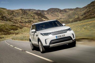 Land Rover Discovery 2019 đầu xe đang chạy