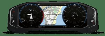 Volkswagen Tiguan bổ sung màn hình công nghệ mới