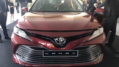 Toyota Camry 2019 ra mắt tại sự kiện riêng của hãng a1
