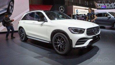 Mercedes-Benz GLC-Class 2020 góc 3/4