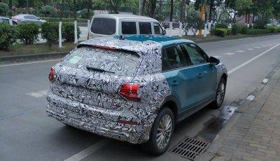 Audi Q2L E-Tron - đuôi xe