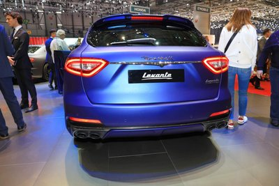 [Geneva 2019] Maserati Levante Trofeo Launch Edition có nguồn gốc từ Ferrari