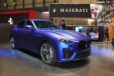 [Geneva 2019] Maserati Levante Trofeo Launch Edition số lượng có hạn
