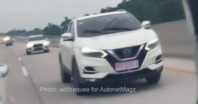 Nissan Qashqai chạy thử không che tại Indonesia