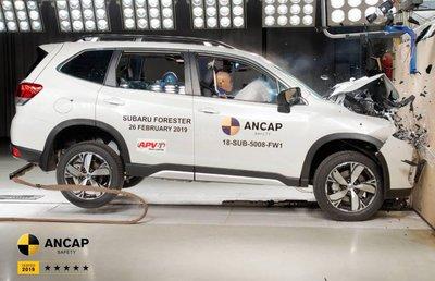 Subaru Forester 2019 an toàn đúng chuẩn