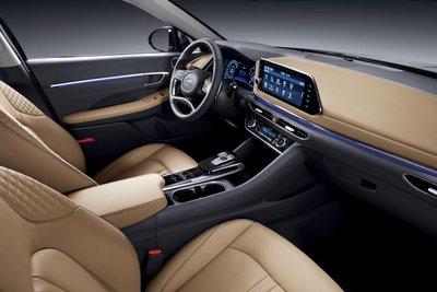 """Hyundai Sonata thế hệ mới lộ ảnh """"nóng"""" kèm thông số sơ bộ a3"""