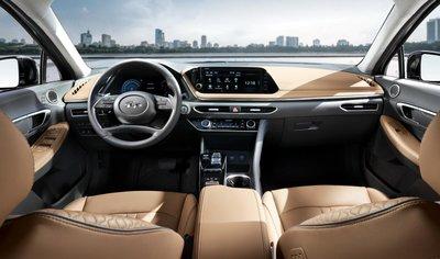 """Hyundai Sonata thế hệ mới lộ ảnh """"nóng"""" kèm thông số sơ bộ a7"""