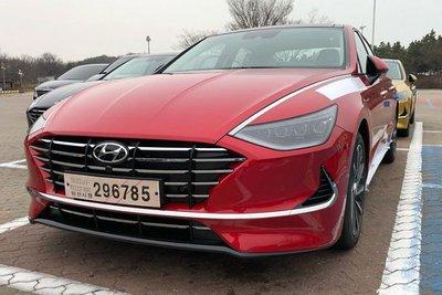 """Hyundai Sonata thế hệ mới lộ ảnh """"nóng"""" kèm thông số sơ bộ a4"""