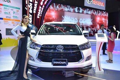 Toyota Innova 2019 màu trắng tại Việt Nam