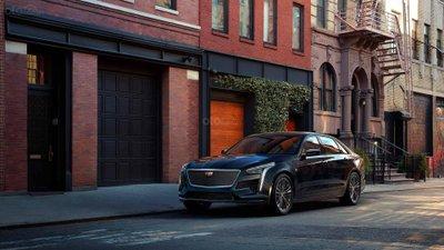 Cadillac CT6-V Sedan đầu xe