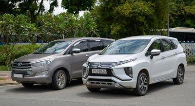 Mitsubishi Xpander 2019 và Toyota Innova 2019...