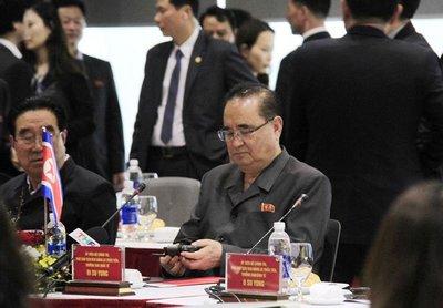 Phó Chủ tịch Đảng Lao động Triều Tiên Ri Su Yong