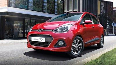 Hyundai i10 2019 màu đỏ...