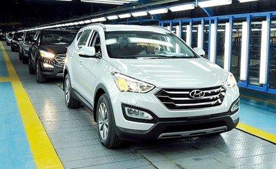 Xe Huyndai tại Việt Nam được lắp ráp và phân phối bởi Huyndai Thành Công HTC...