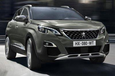 Giá xe Peugeot 3008 và 5008 kèm lãi suất vay mua trả góp tại các ngân hàng