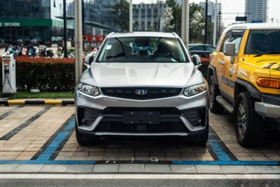 Mê mẩn với SUV coupe Geely FY11 đến từ Trung Quốc a9