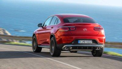 Mercedes-Benz GLC 2020 Coupe tăng sức mạnh