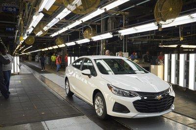 Chevrolet Cruze tại nhà máy