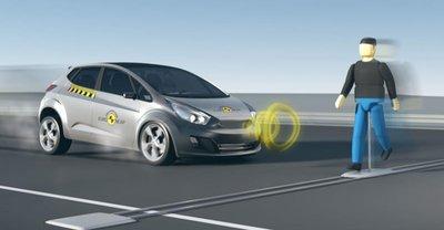 Euro NCAP đánh giá độ an toàn đối với người đi bộ...