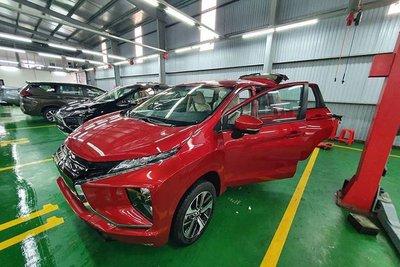 Mitsubishi Xpander có thêm bản màu đỏ về Việt Nam a1