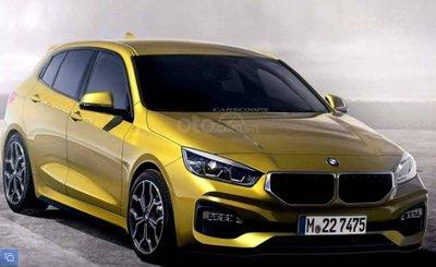 BMW 1-Series 2019 ảnh dựng