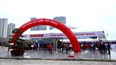 Đến Thành phố Toyota: Đã chạm là tin a1
