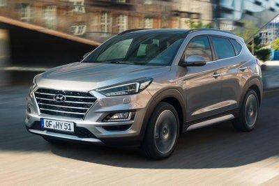 Hyundai Tucson 2019 đầu xe
