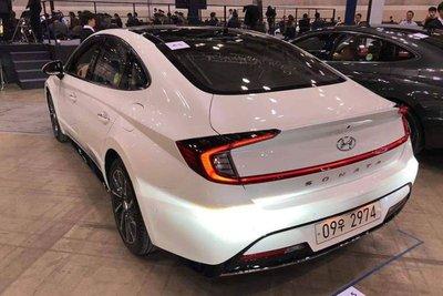Hyundai Sonata 2020 lộ diện hoàn toàn qua video a2