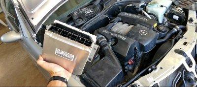 Soi lỗi thường gặp trên xe sang Mercedes-Benz a3.