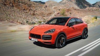 Porsche Cayenne 2020 Coupe màu đỏ